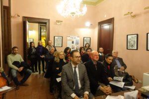 Il pubblico presente all'incontro culturale